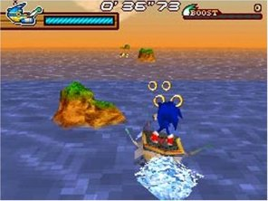 Sonic: Rush gamplay screenshot