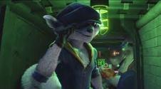 sly cooper movie teaser trailer screenshot