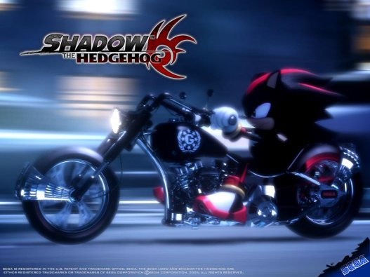 Shadow The Hedgehog Promo 2
