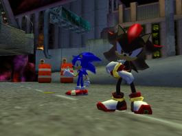 shadow the hedgehog screen shot