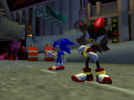 shadow the hedgehog screen shot