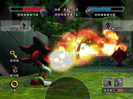 Shadow the hedgehog gameplay