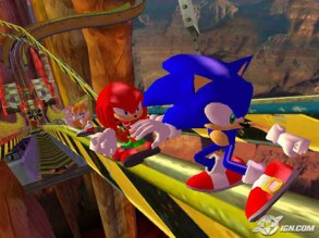 sonic heroes screen shot