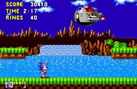 Sonic 1 and Eggman