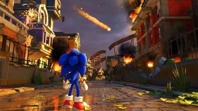 Sonic Forces Modern Sonic Screenshot