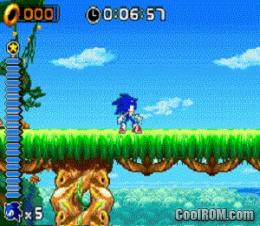 Sonic Rush sonic gameplay