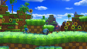 sonic forces classic sonic green hill zone gameplay