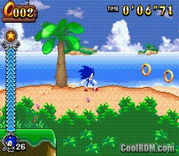Sonic Rush Adventure screenshot 2