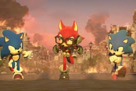 sonic forces custom hero 4
