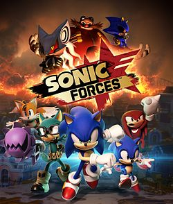 Sonic Forces Artwork
