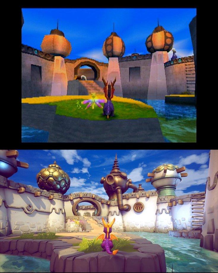 Spyro 2 sunny beach