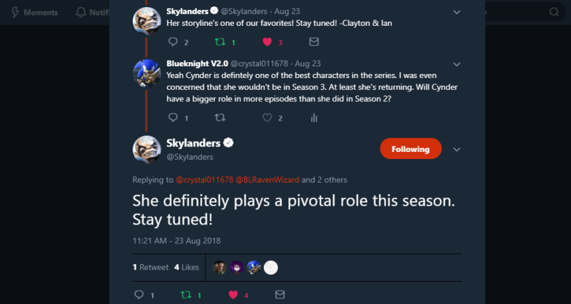 Skylanders on Twitter_ _He's back and he's bringing some backup with him! -Clayton & Ian… _ - Google Chrome 8_24_2018 11_42_44 PM (2)