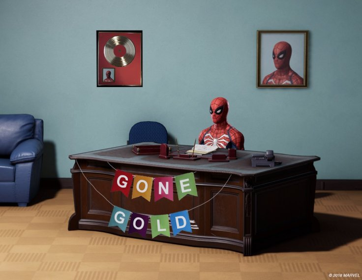 spider man ps4 gold
