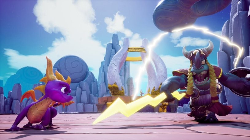 spyro 3 reignited cloud spires 2