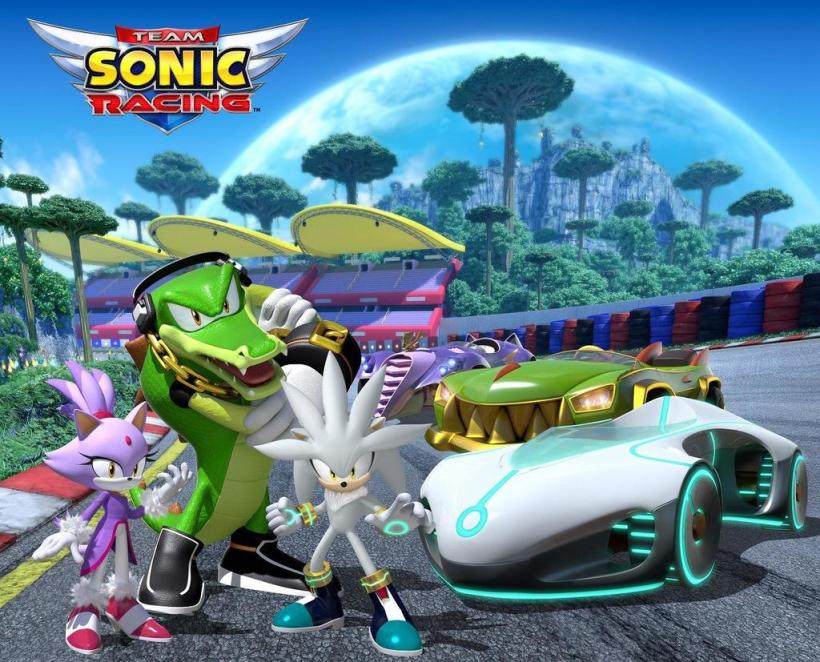 team sonic racing Team silver