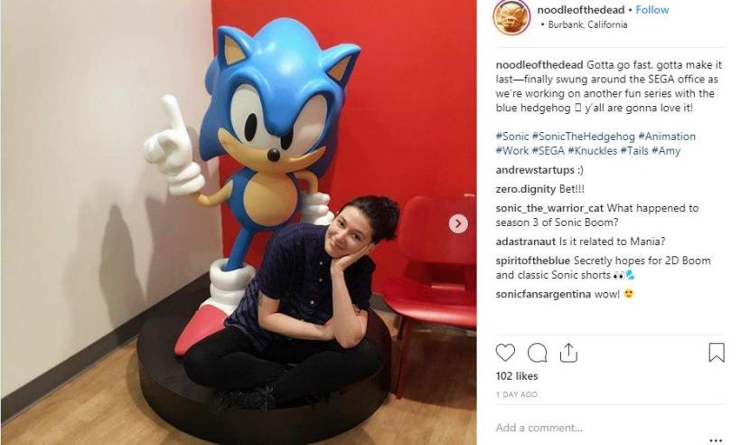 new sonic series hint