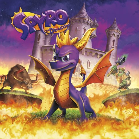 spyro 1 cover reignited