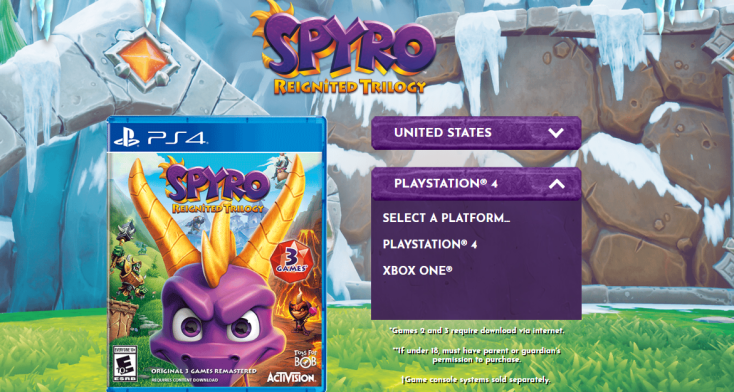 Spyro Reignited Trilogy _ Home