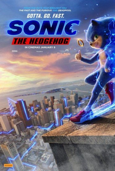 sonic movie 2nd new poster
