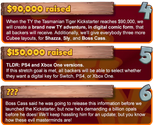 TY the Tasmanian Tiger for Switch, PS4 & Xbox One by Krome Studios — Kickstarter - Google Chrome 8_13_2019 8_39_10 PM