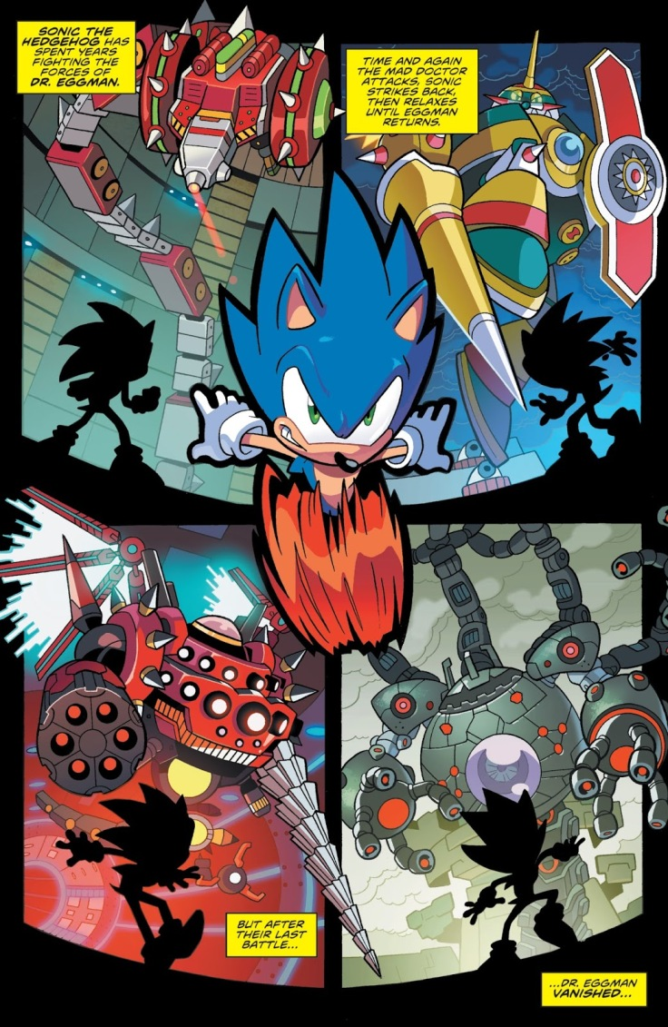 Sonic IDW Intro