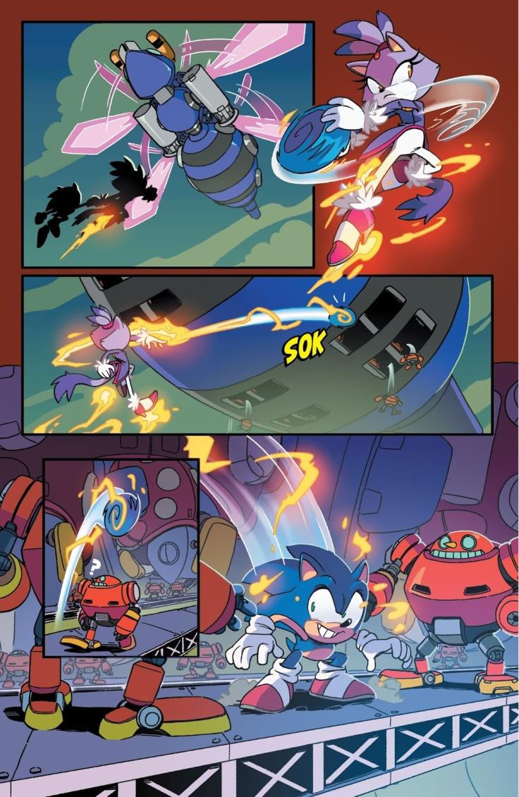 IDW Sonic & Blaze