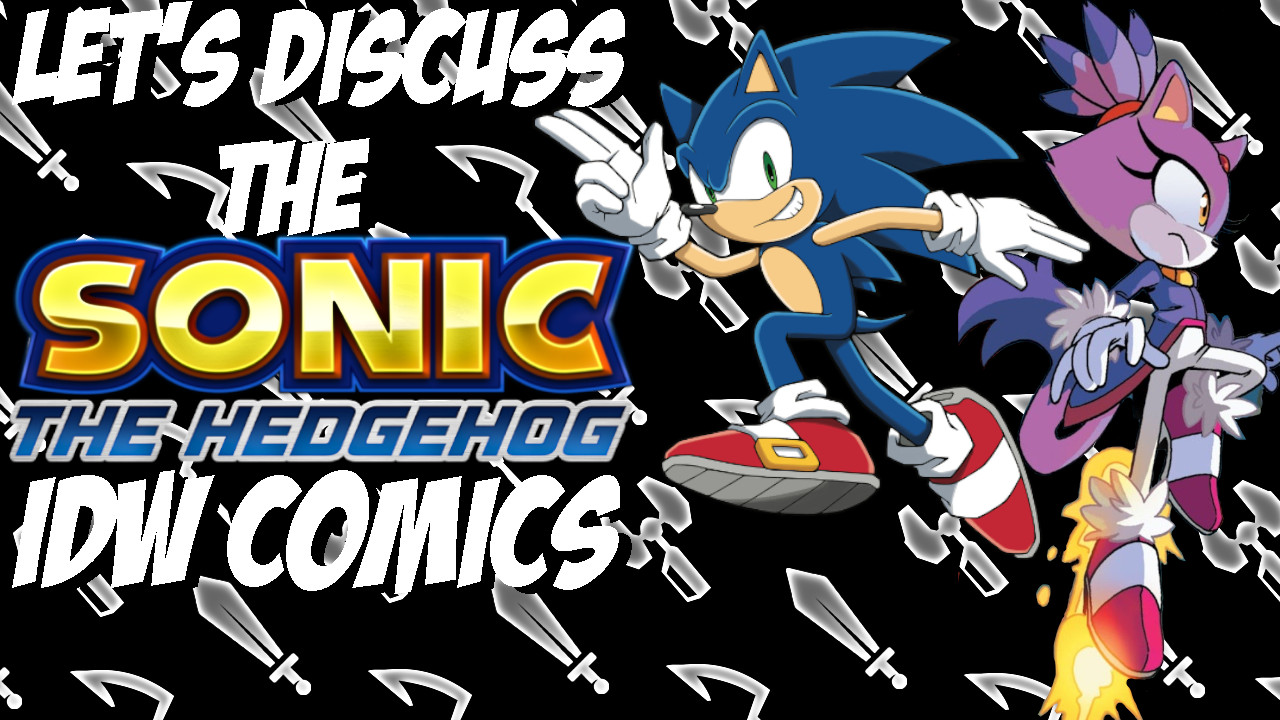 Sonic The Hedgehog The Idw Sonic Comics Nearly 2 Years Later Blueknight V2 0