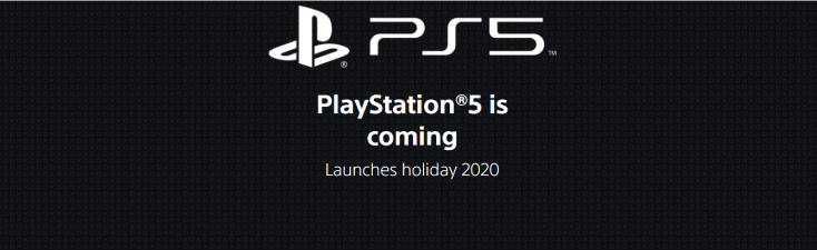 PS5 Website