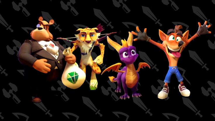 Spyro Crash Characters.png